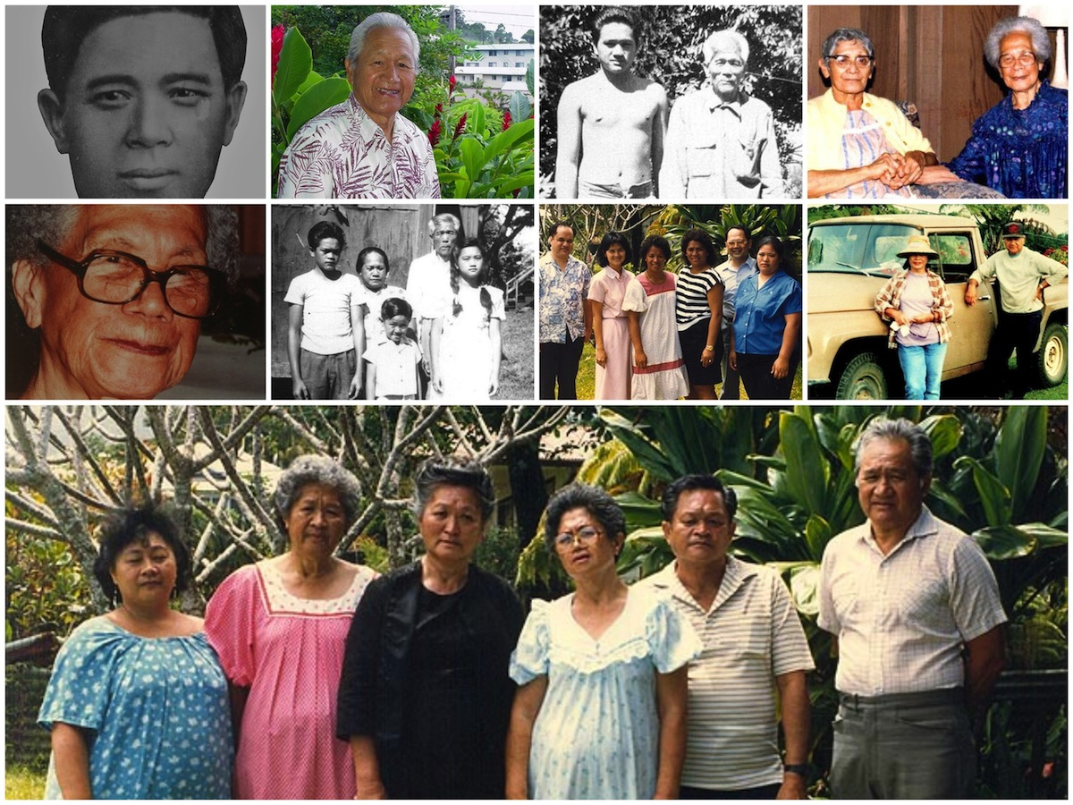 Ah Ching Family Collage 1200 X 900